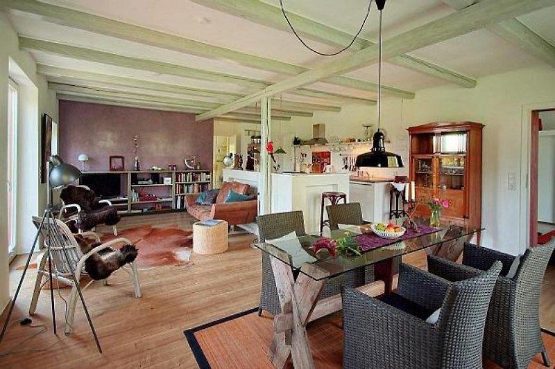 Wohnbereich Küche Essbereich