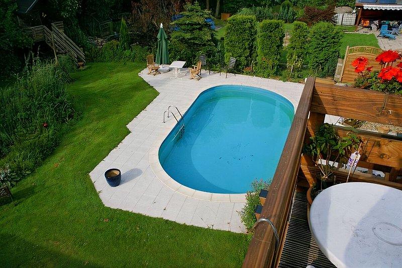 Pool 9x5x1,5 m