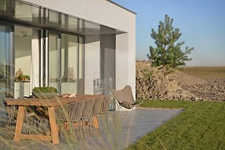 Luxury Design Villa at the North Sea beach