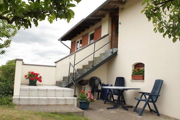 Terasse und Eingang