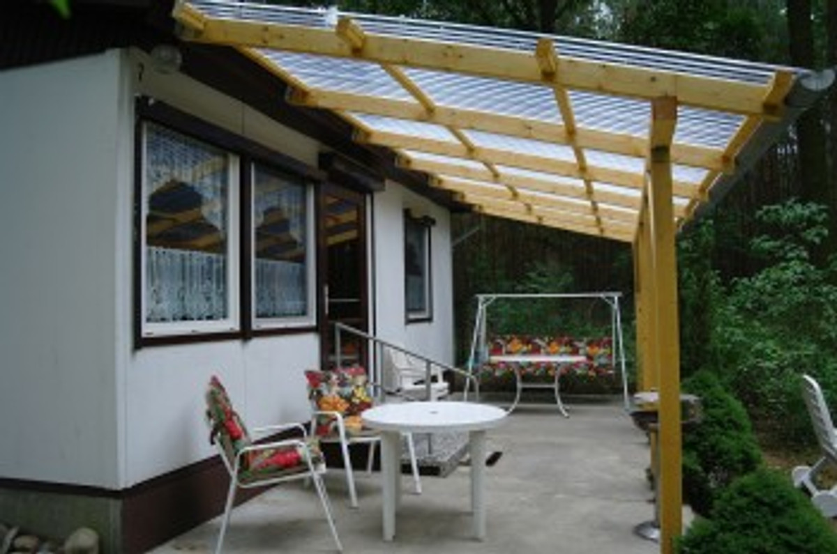 bungalow im wald ferienhaus in zossen mieten. Black Bedroom Furniture Sets. Home Design Ideas