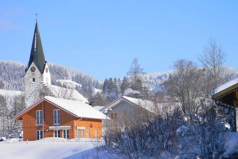 Unser 5*Ferienhaus im Winter