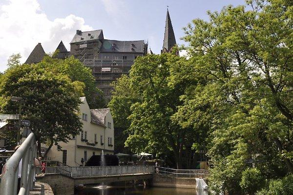 Obermühle Limburg mit Blick auf den Dom