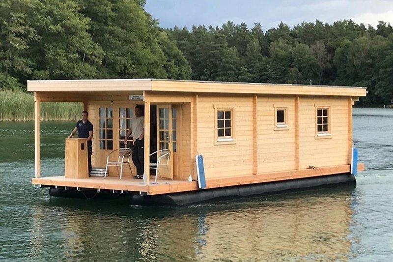 Hausboot D10 Komfort - Ferienanlage Inseblick