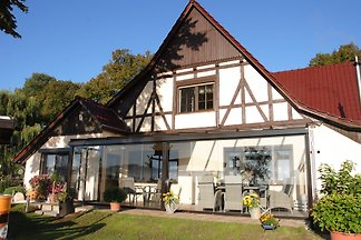 Ferienwohnung Schmidt nahe Bibowsee