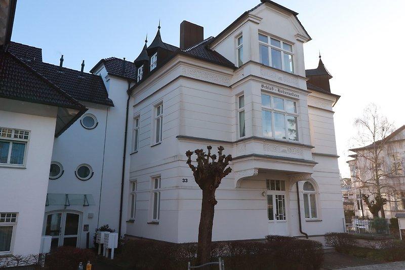 Schloß Hohenzollern von der Goethestraße