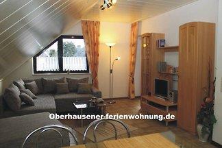 Ferienwohnung bis 6 Personen in ruhiger Lage von Oberhausen, ab 17,50 €/Person/Übernachtung