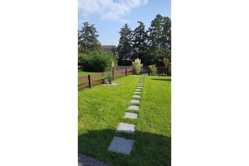 Garten mit Sielzugang