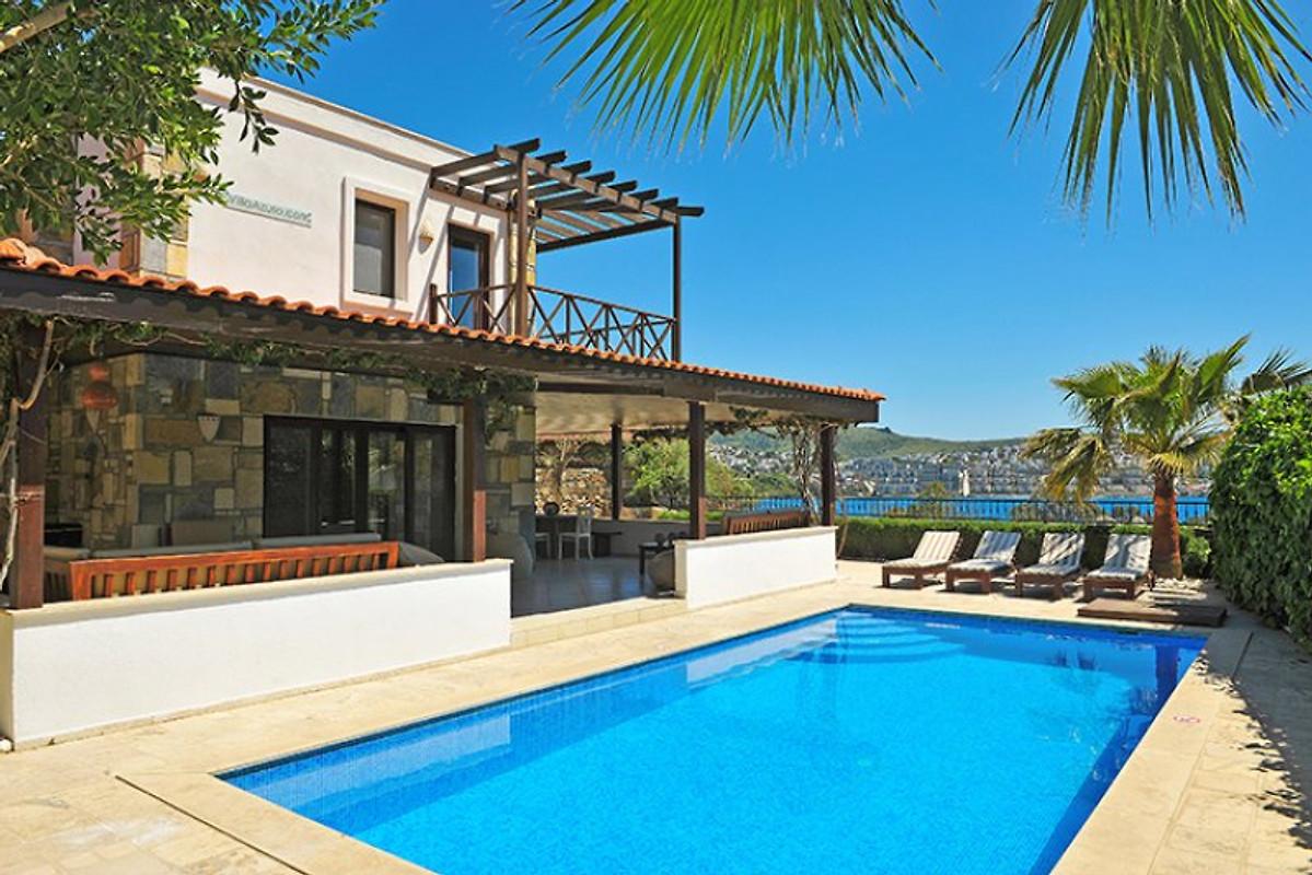 Villa azuro ferienhaus in gündogan mieten