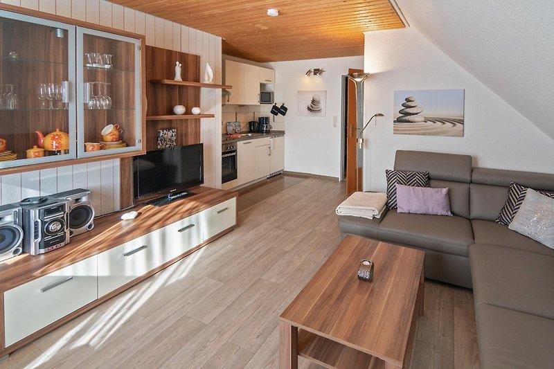Appartement 12 - Wohnzimmer