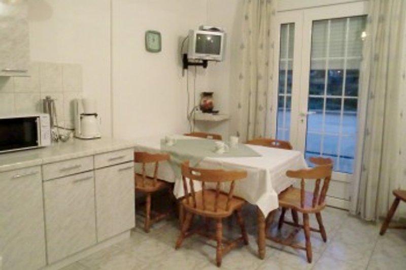 HAUS JADRANKA, Esswohnküche der Wohnung für 6 Personen. 1. Stock