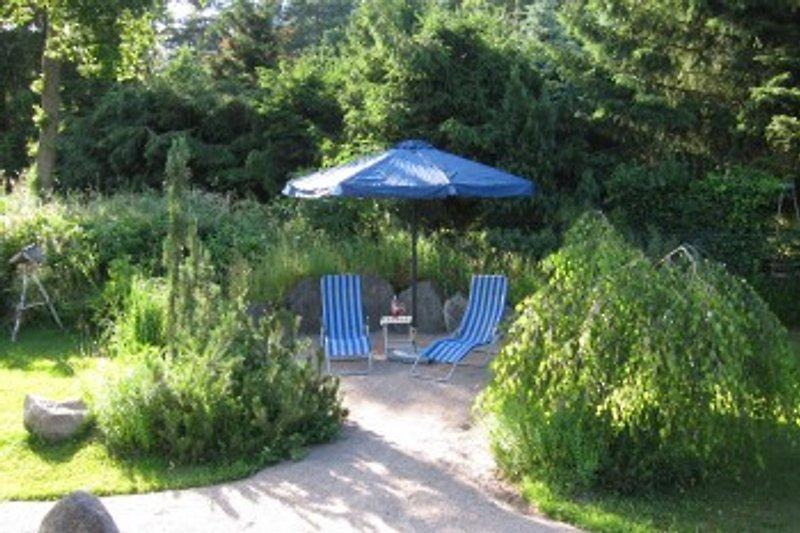 Relaxen im großen Garten