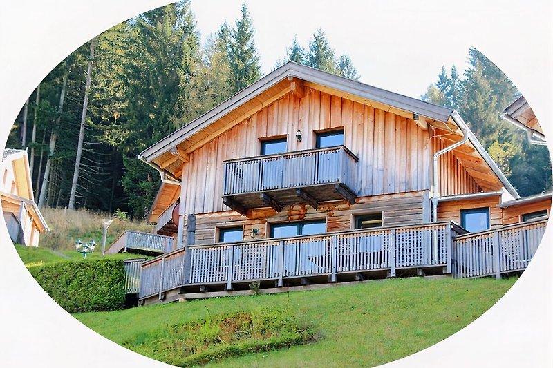 Haus 28 mit vorderer Terrasse