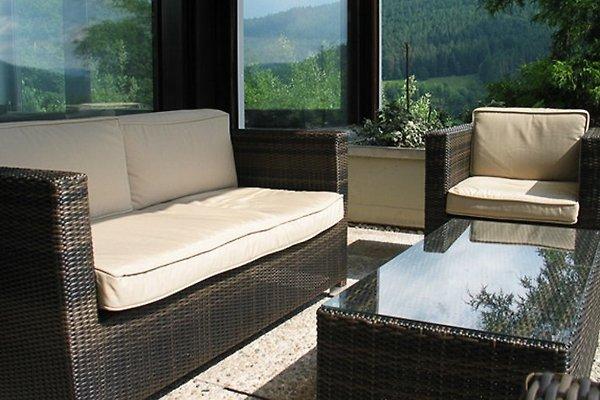 Loungesitzgruppe auf der Terrasse