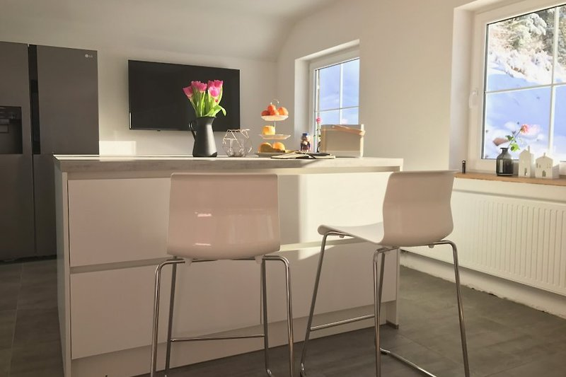 Luxus schwarzwald chalet lohmuehle ferienhaus in for Kühlschrank mit eiswürfelmaker