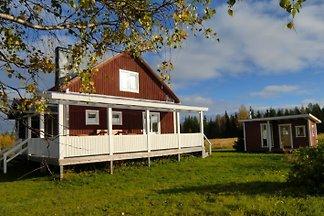 Ferienhaus Brännmyra mit Sauna  in Lappland, Norrbotten, Tornedalen, Schweden in absolut ruhiger Lage auf riesigem Grundstück!