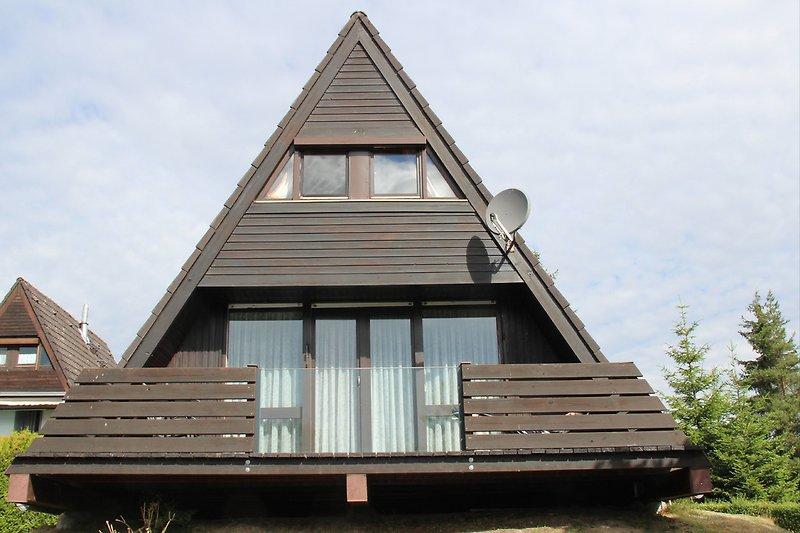 Ferienhaus Maria mit neuem Glasbalkonelement