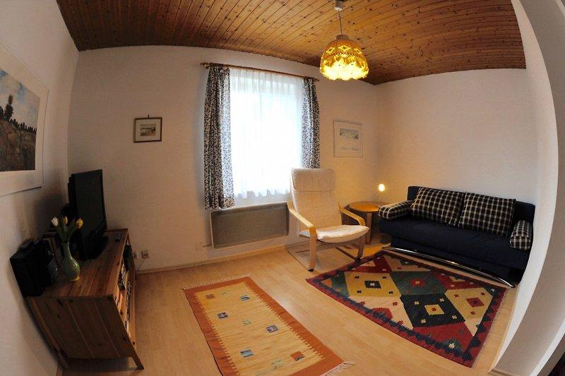 Schlafzimmer (Mit Fischaugenlinse fotografiert)