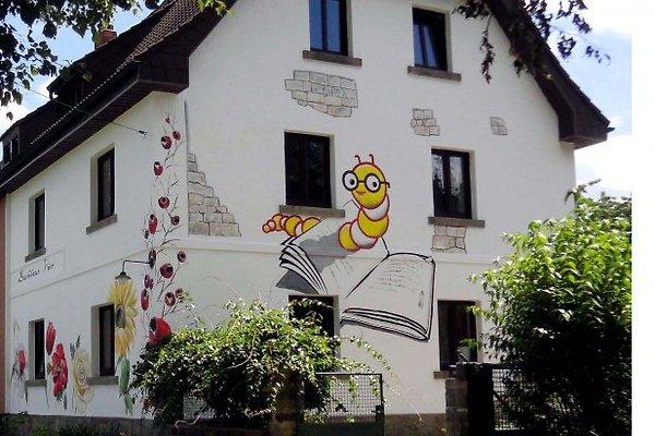 Das *****-Ferienhaus ,Buchhaus Vier' im Sommer...