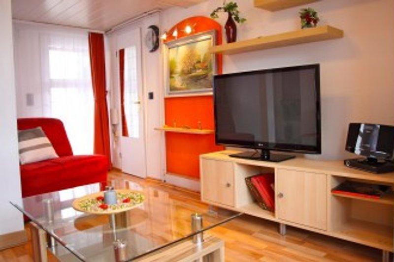 Wohnzimmer mit Schafsofa 160x200 cm