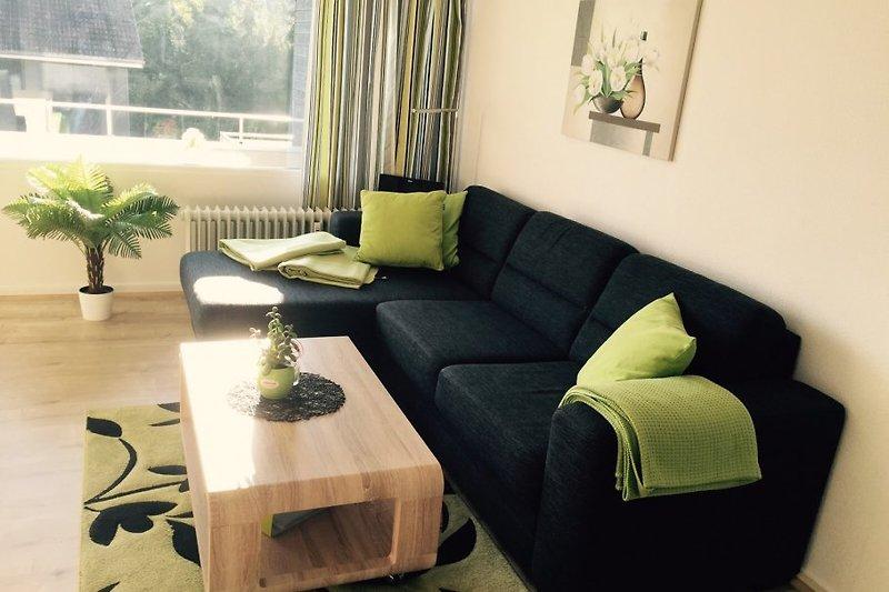 Das helle und moderne Wohnzimmer
