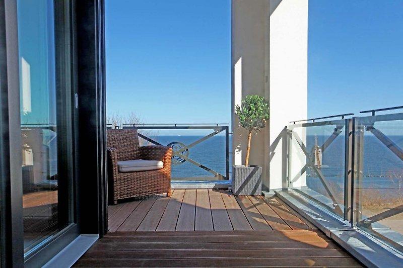 Meerblick Balkon
