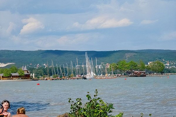 Segelhafen am Balaton nähe vom Ferienhaus