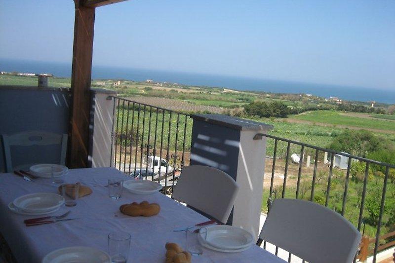 Private Terrasse - Frühstück im Freien