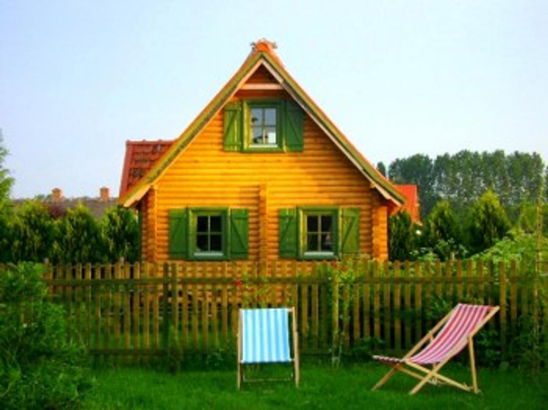sommerhaus aus holzbalken ferienhaus in w gorzewo mieten. Black Bedroom Furniture Sets. Home Design Ideas