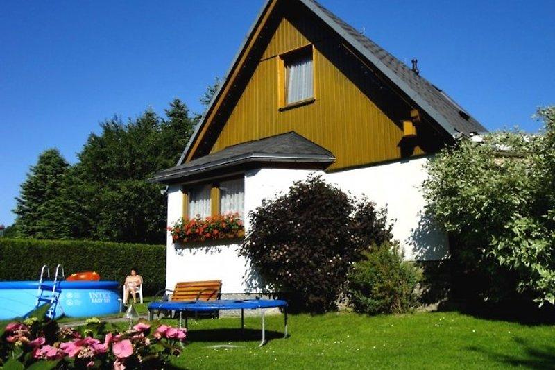 Ferienhaus Karin Westansicht