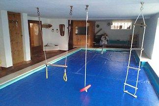 Ferienhaus mit Schwimmbad und Sauna