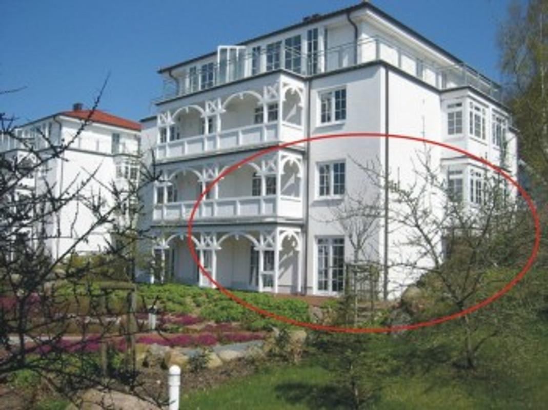 villa bernstein whg 32 ferienwohnung in binz mieten. Black Bedroom Furniture Sets. Home Design Ideas