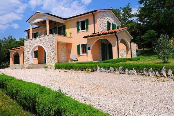 Villa, piscina, Rabac en Stanišovi - imágen 1