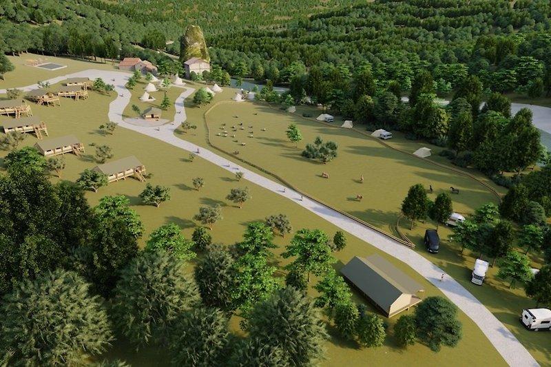 Camping Rancone Lodges