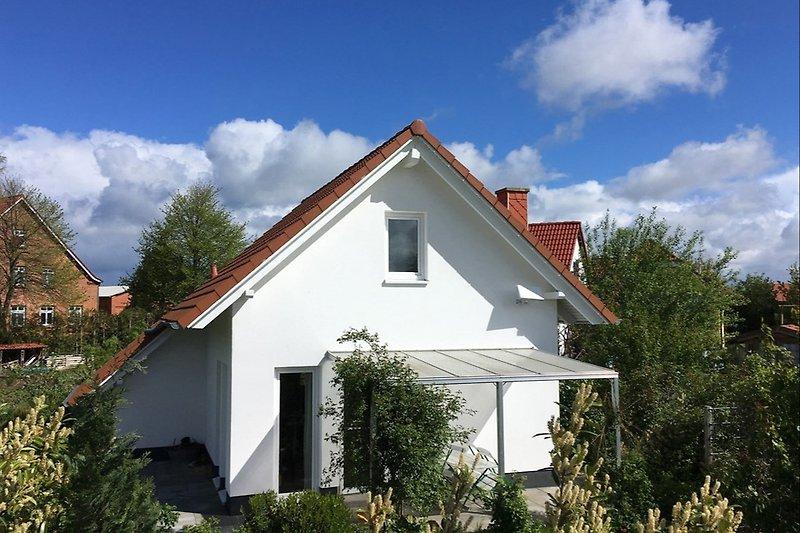 Ferienhaus Seeblick 14 mit Garten
