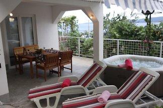 Casa de vacaciones con jacuzzi para 10 personas