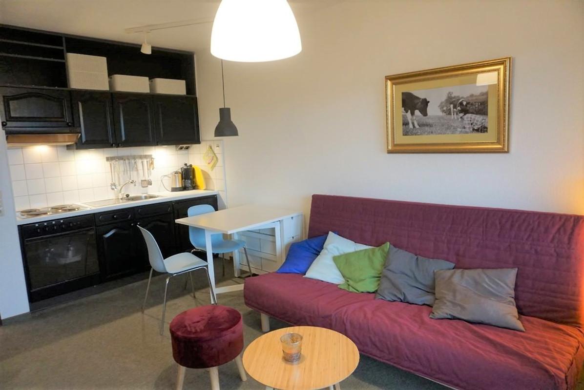 Kleiner Kühlschrank Wohnzimmer : Ferienwohnung kleiner priel in der ferienunterkunft berghof