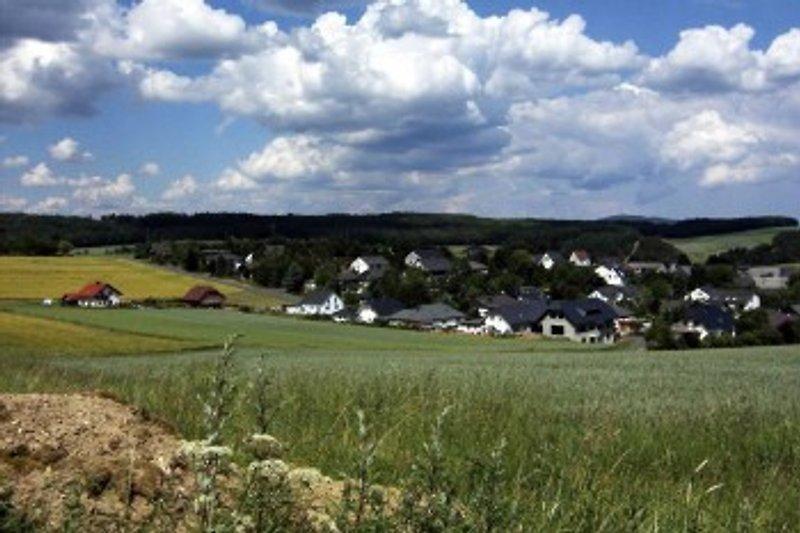 Blick auf den Ort Breitenthal