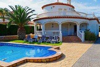 Villa Marisol con piscina privata