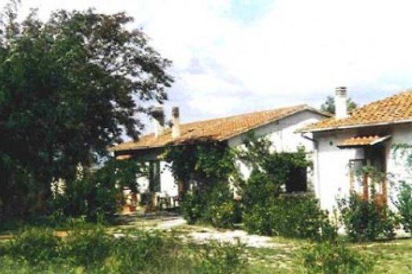 Vergheria - die beiden Landhäuser