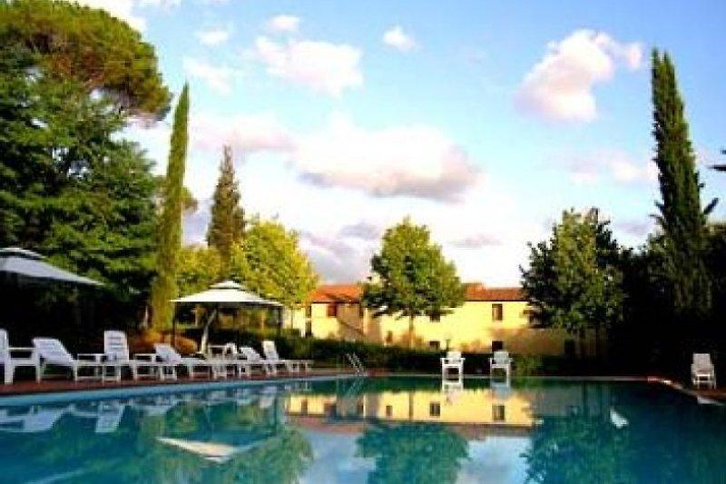 Villa Avanella con piscina - Chianti in Certaldo - immagine 2