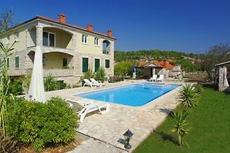 Apartment in Villa with pool