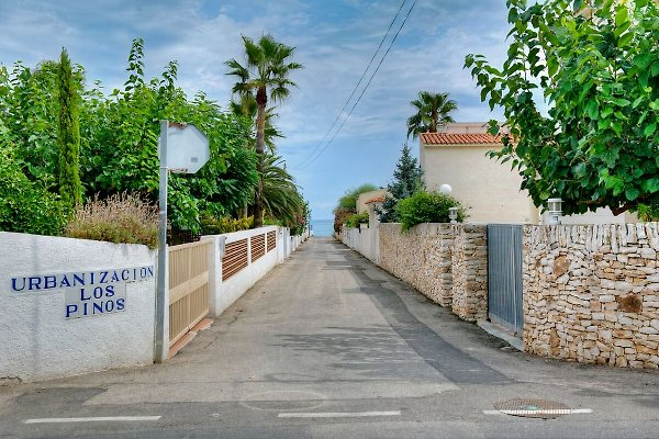 Straße Los Pinos