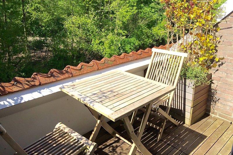 Terrasse mit Süd-West Ausrichtung