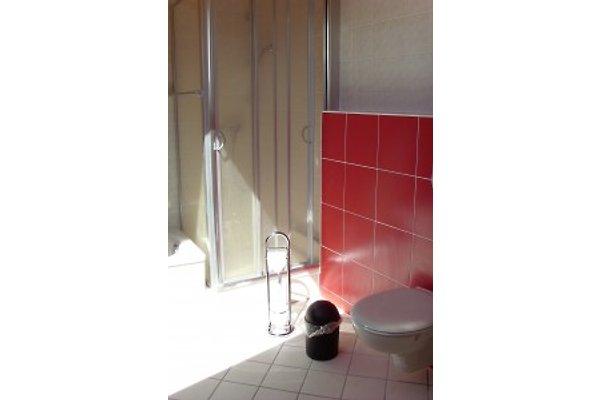 Drei-Zimmer Ferienwohnung mit Seeblick (Badezimmer)