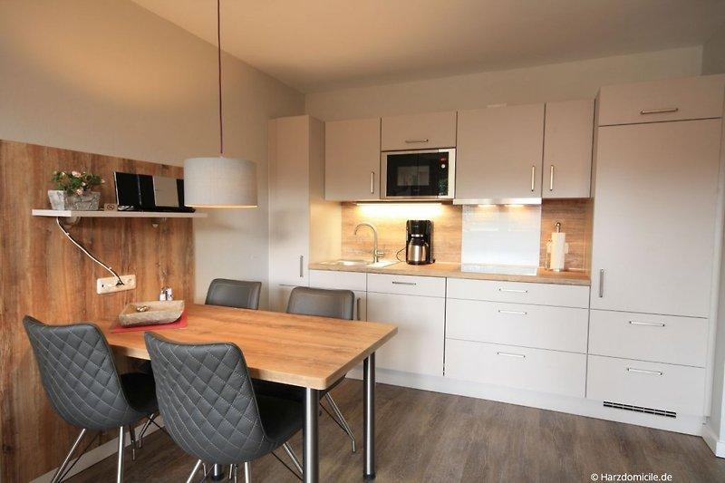 Wohn- /Essbereich mit offener Küche