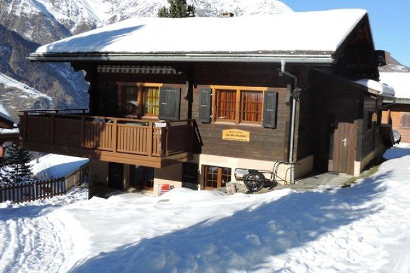Chalet Föhre im Winter