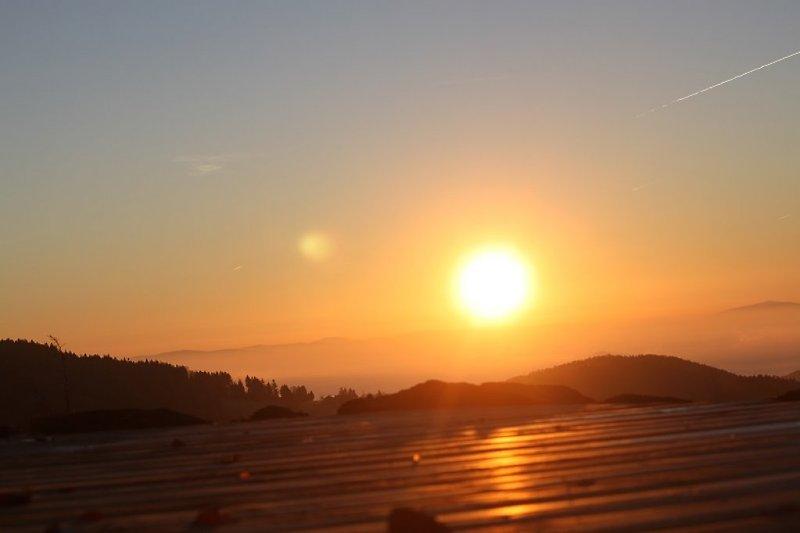 unvergessliche Sonnenaufgang