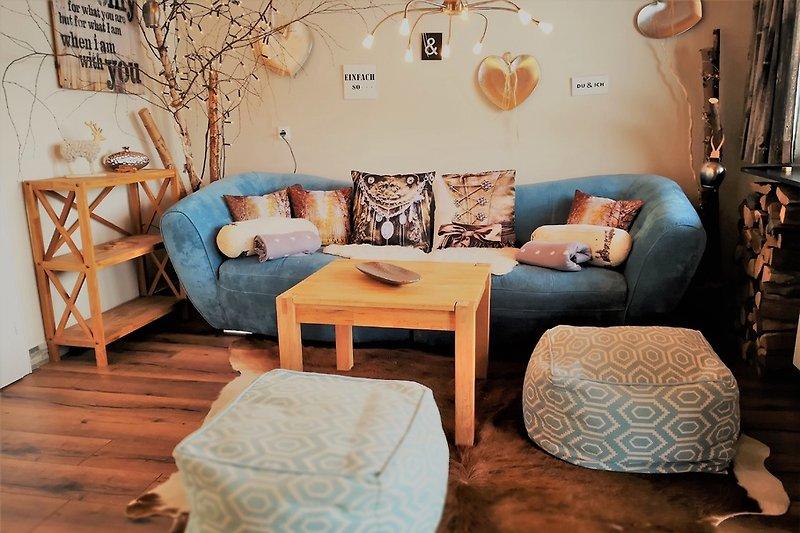 kuschliges Sofa