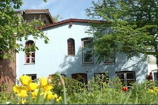 Blaues Haus in Wittkiel